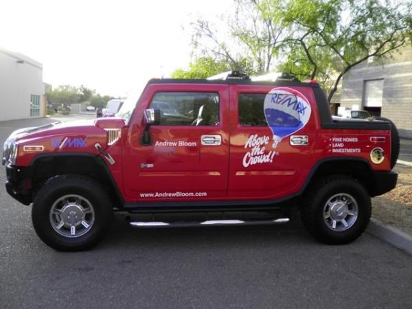 VL230 - Custom Vehicle Lettering for Real Estate